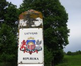 Border around Latvia