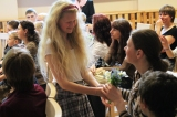 Mother's day Celebration in Riga Boarding School for deaf Children